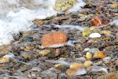 #1416  Beachstones at Sandy Neck, Cape Cod, Massachusetts
