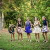 9-23-17 Taylor Schab, Bella Basinger, Brenna Kindle, Julia Smallcombe, Clara Matthews - Freshman Homecoming 01