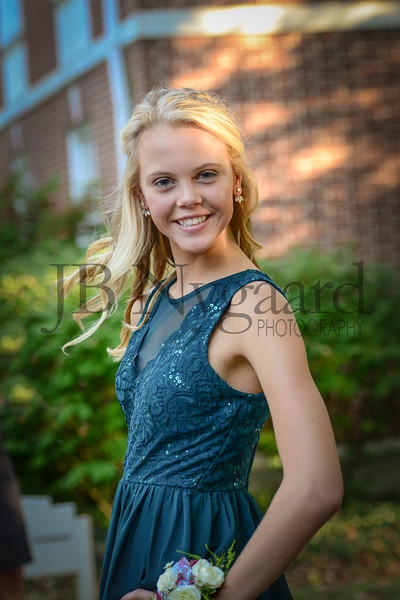 9-23-17 Taylor Scwab - Pandora Freshman at Bluffton Homecoming