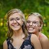 9-23-17 Bella Basinger and Lauren (Skippy) Rhodes - BHS Freshman Homecoming 01