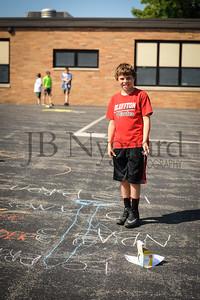 5-24-16 5th grade sidewalk chalk (Class of '23 - Erik's class)-55