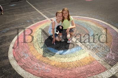 5-24-16 5th grade sidewalk chalk (Class of '23 - Erik's class)-71