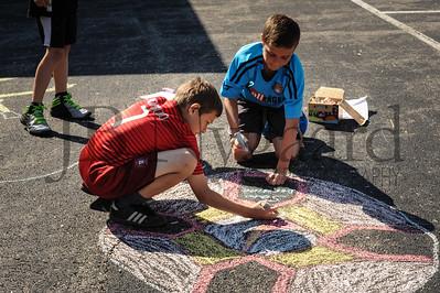 5-24-16 5th grade sidewalk chalk (Class of '23 - Erik's class)-1