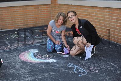 5-24-16 5th grade sidewalk chalk (Class of '23 - Erik's class)-9