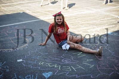 5-24-16 5th grade sidewalk chalk (Class of '23 - Erik's class)-28