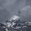 Ski Hill in the clouds