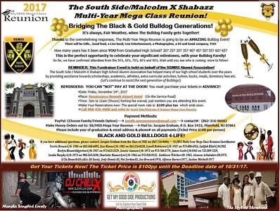 Malcolm X Shabazz Multi Year Mega Class Reunion