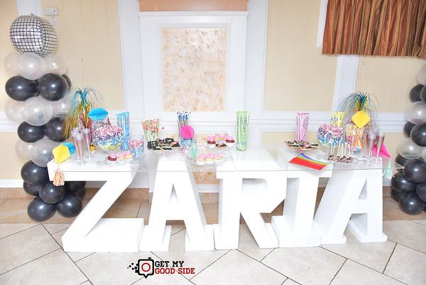 Zaria's Sweet 16