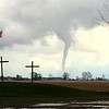 This tornado picture taken on an iPhone was submitted by Doug and Jinger.