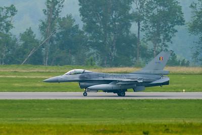 Belgain Air Force F-16 FA-132