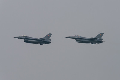 Belgain Air Force F-16 Formation flight