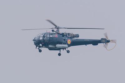 Belgain Air Force Alouette III M-2