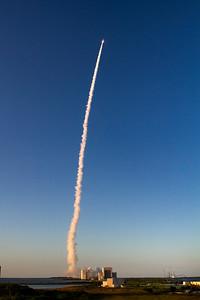 AtlasV OSIRIS-REx at Mach 1