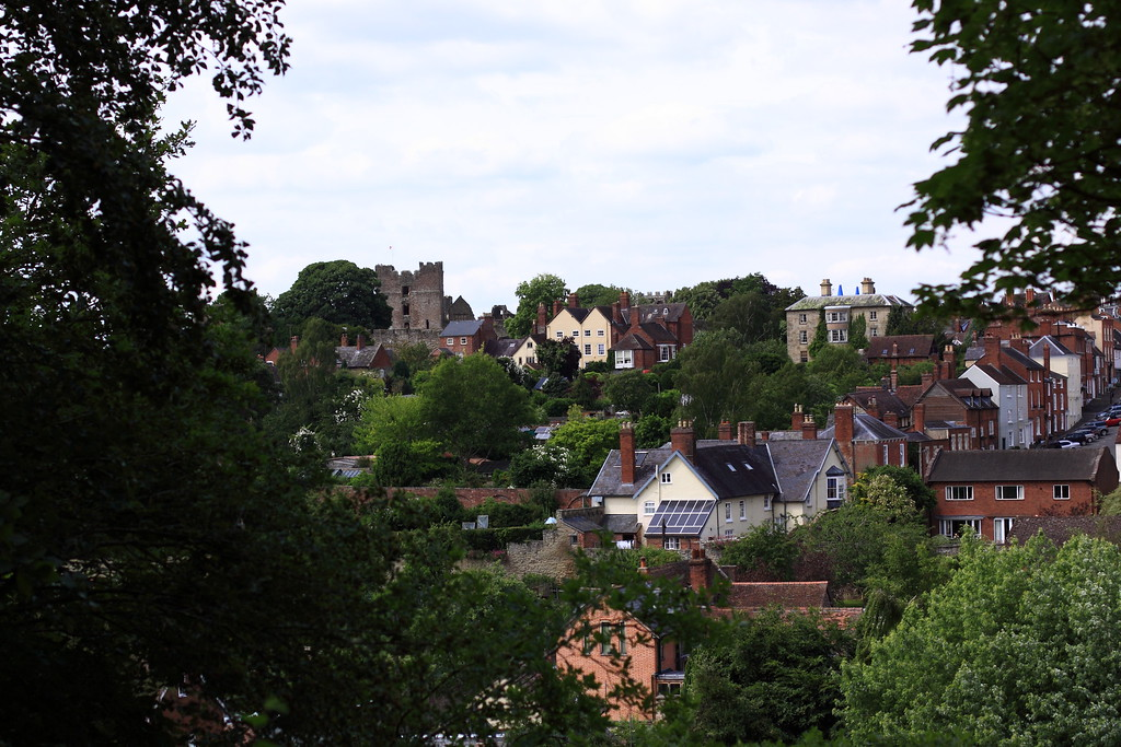Scenes from around the village of Ludlow below the castle.