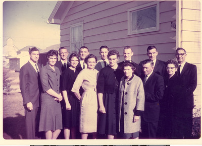 Edwin and Anna Ralph Family 1964