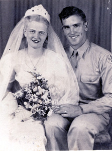 Ruth and Clovis Ralph Wedding Photo