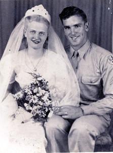 Ruth and Clovis Ralph Wedding Photo