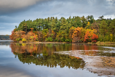Vadnais Lake Fall Colors