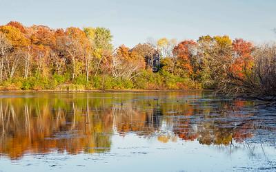Sucker Lake Fall Colors