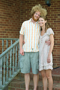 Mandy and Benny The day before the wedding