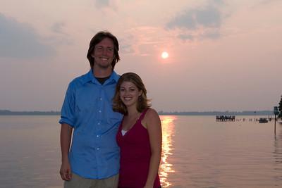 Brandon and Lori Eggers