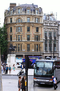 Views from the tour bus around London.