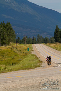 Riding in the Canadian Rockies