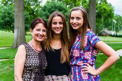 Joan , Kathleen and Caroline O'Keefe - 2014