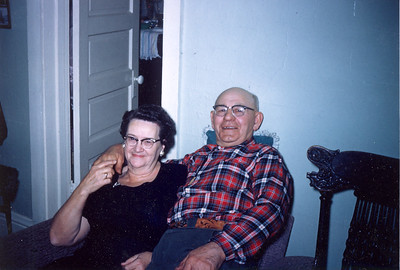 Grandma and Grandpa Olson