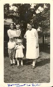 Grandma Mom and us kids