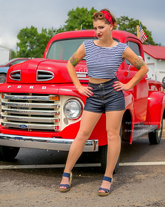 Rachel and the Red Ford