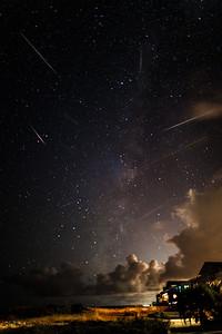 Perseid Meteors