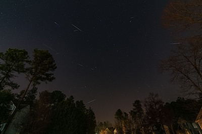 The Quadrantids Meteor Shower - Jan 4, 2016