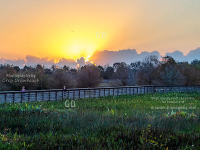 Sunrise at Green Cay