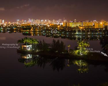 Miami from the Hilton