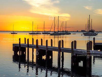 Sunset Over Biscayne Bay