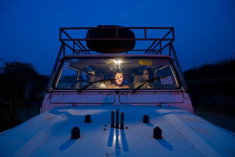 """6 a.m. Queen Elizabeth National Park<br><span style=""""font-size:75%"""">©Yangchen Lin</span>"""
