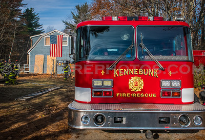 FOOLS Fall Fire & First Due Boss w/ live fire training - Kennebunk, ME - 11/11/18