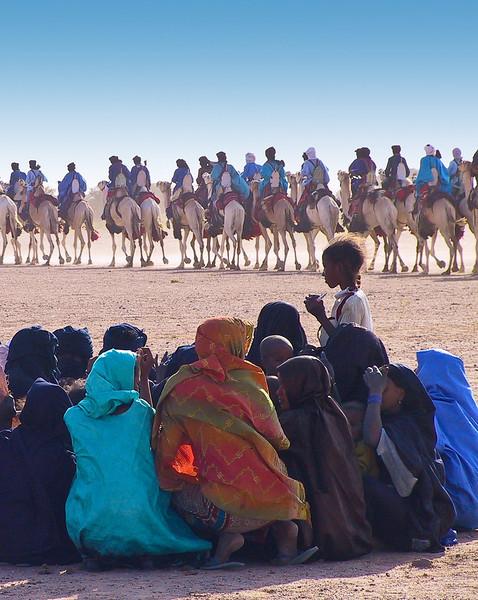 Tuareg festival - Sahara