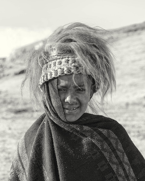 Young Ethiopian boy -- Highlands of Ethiopia