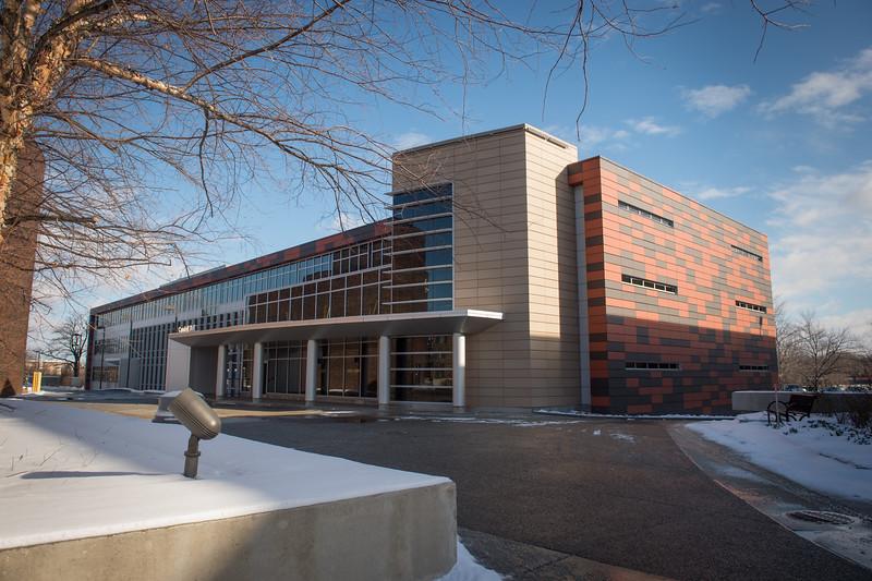 Newly renovated Caudell Hall at SUNY Buffalo State.
