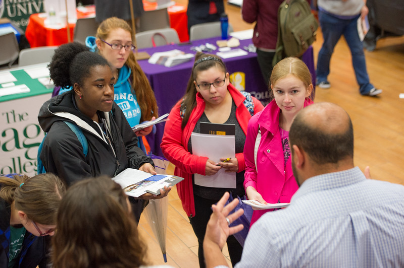 Graduate School Fair at Buffalo State College.