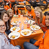 Buffalo State Homecoming tailgate party.