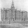 Photograph of the old Normal School (Buffalo State College) when first built.