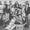 """FABS"", Future Artists of Buffalo State group photo from 1952."