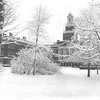 1924 winter campus scene of the second location of the Normal School (Buffalo State College).