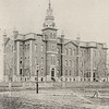 Photo of the Old Normal School when first built for 150th anniversary celebration at SUNY Buffalo State College.