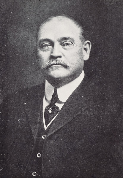 1912 photo of President Edward H. Butler for 150th anniversary celebration at SUNY Buffalo State College.