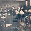 1918 photo of students in the cafeteria for 150th anniversary celebration at SUNY Buffalo State College.