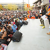 Homecoming Pep Rally at SUNY Buffalo State College.